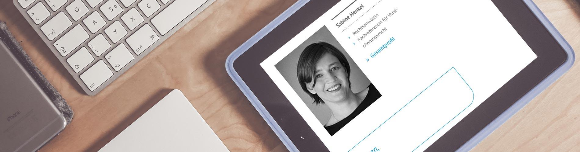 Rechtsanwältin Sabine Henkel